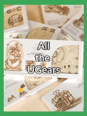 UGear Mechanical Models