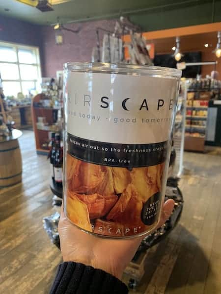 Airscape Canister 7 inch Glass