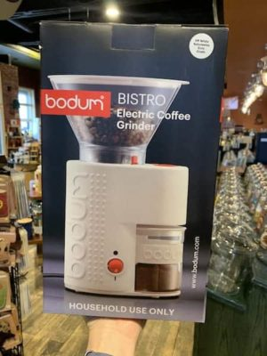 Bodum Bistro Coffee Grinder White