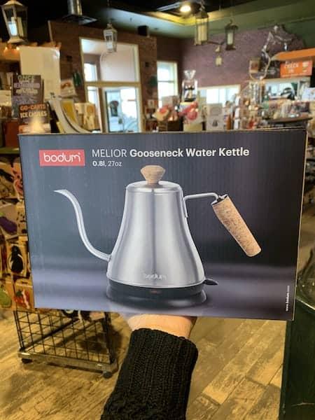 Bodum Melior Gooseneck Electric Water Kettle Silver