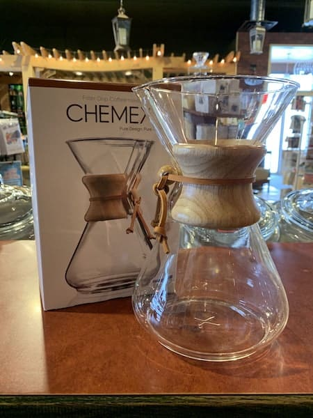 Chemex 10 Cup Wood Collared Pour-Over