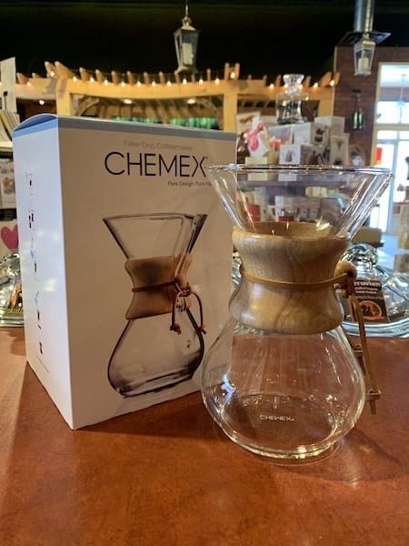 Chemex 6 Cup Wood Collared Pour-Over