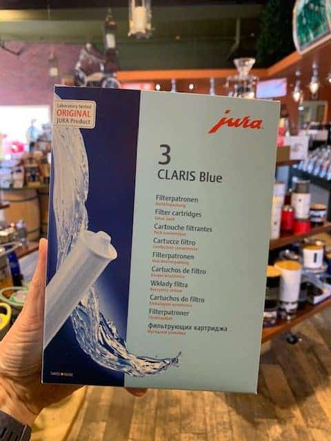 Jura Claris Blue Water Filter Cartridges 3 pack