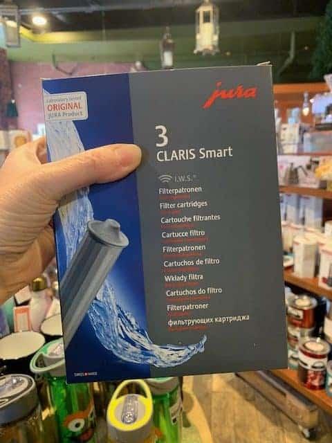 Jura Claris Smart Water Filter Cartridge 3 pack