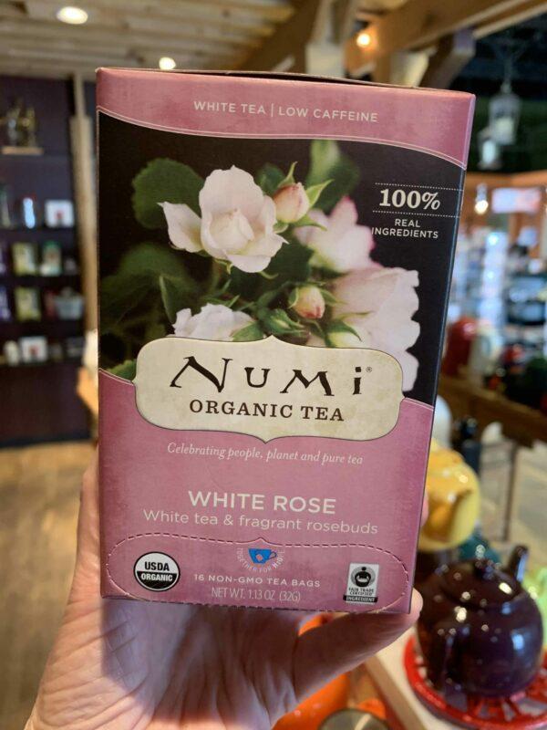 Numi White Rose Tea, Bags