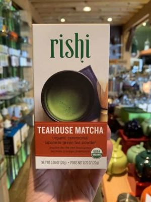 Rishi Teahouse Matcha Green Tea Powder