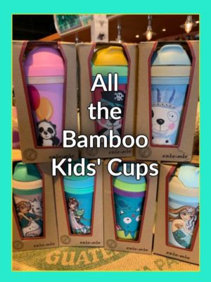 Chic Mic Bamboo Kids Cups
