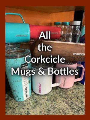Corkcicle Mugs & Water Bottles