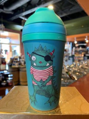 Chic Mic Bamboo Kids Travel Cup Moo