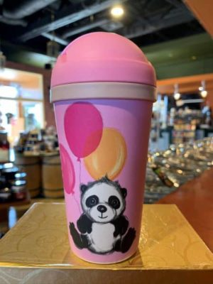 Chic Mic Bamboo Kids Travel Cup Panda Queeny