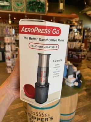 Aeropress go coffee maker press