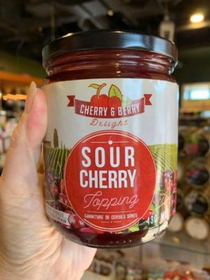 Cherry Berry Sour Cherry Topping