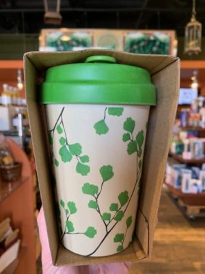 Chic Mic Bamboo Travel Cup Ginkgo