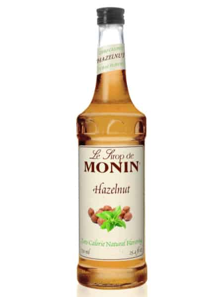 Monin Hazelnut Zero Calorie Syrup