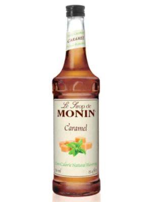 Monin Caramel Zero Calorie Syrup