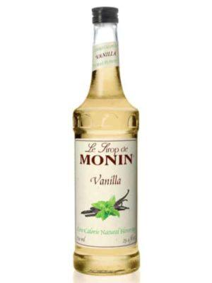 Monin Vanilla Zero-Calorie Syrup