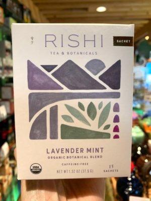 Rishi Lavender Mint Herbal Tea Bags