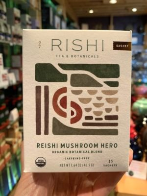 Rishi Reishi Mushroom Hero Herbal Tea Bags