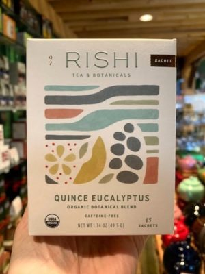 Rishi Quince Eucalyptus Herbal Tea Bags