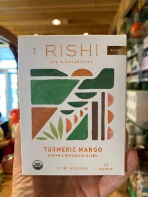 Rishi Turmeric Mango Herbal Tea Bags