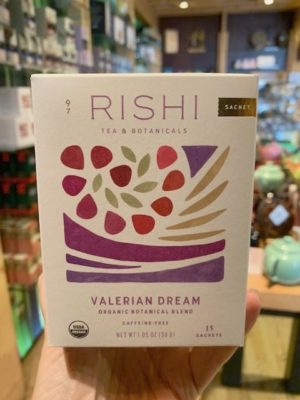 Rishi Valerian Dream Herbal Tea Bags