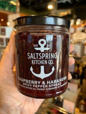 Saltspring Kitchen Raspberry Habanero Spicy Pepper Spread