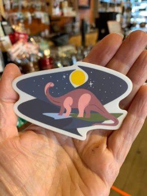Vinyl Sticker Brontosaurus 2.0