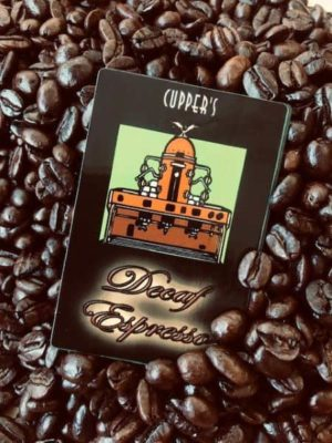 decaf espresso dark roast coffee