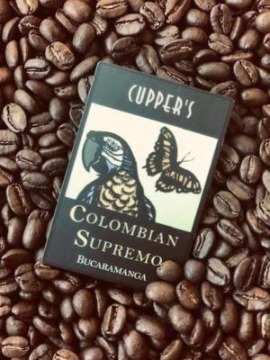 colombia supremo coffee beans