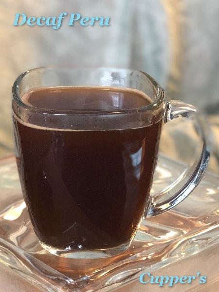 peruvian organic decaf coffee beans