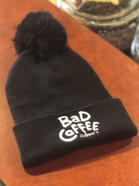 BAD Coffee Knit Toque Pompom