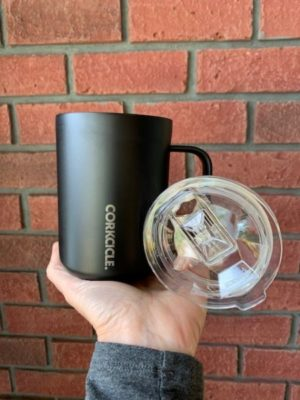 Corkcicle Mug 16oz Matte Black