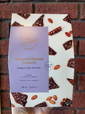 Fraser Valley Almond Butter Crunch Milk Chocolate 300gm box