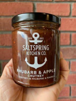 Saltspring Kitchens Rhubarb Apple Chutney
