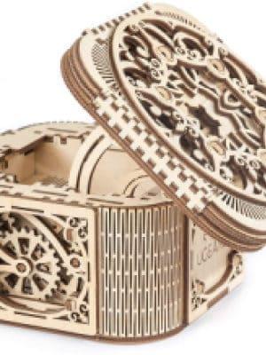 UGears Treasure Box Mechanical Model