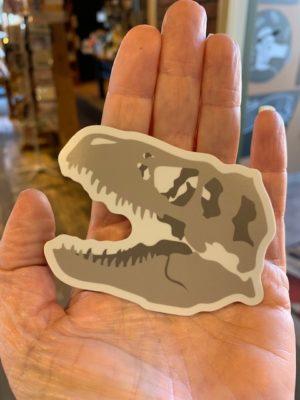 Vinyl-Sticker-T-Rex-Skull