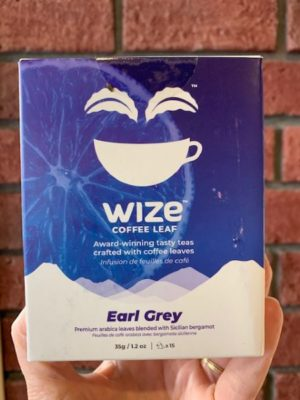 Wize Coffee Leaf Tea Earl Grey