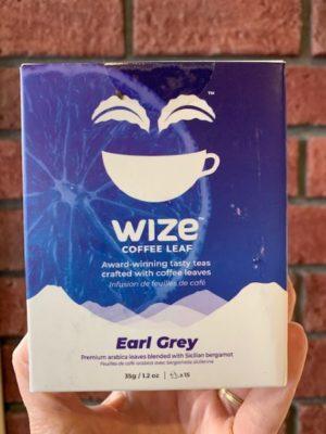 Wize Coffee Leaf Tea Earl Grey