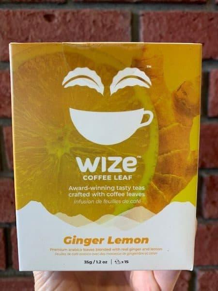 Wize Coffee Leaf Ginger Lemon Tea