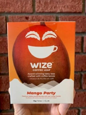 Wize Coffee Leaf Mango Party Tea