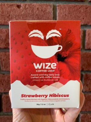 Wize Coffee Leaf Strawberry Hibiscus Tea