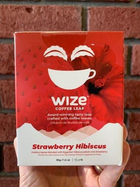 Wize Coffee Leaf Strawberry Hibiscus Tea