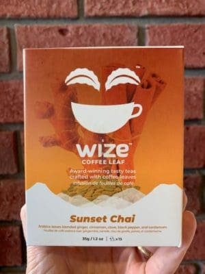 Wize Coffee Leaf Sunset Chai Tea