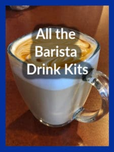 All the Barista Drink Kits
