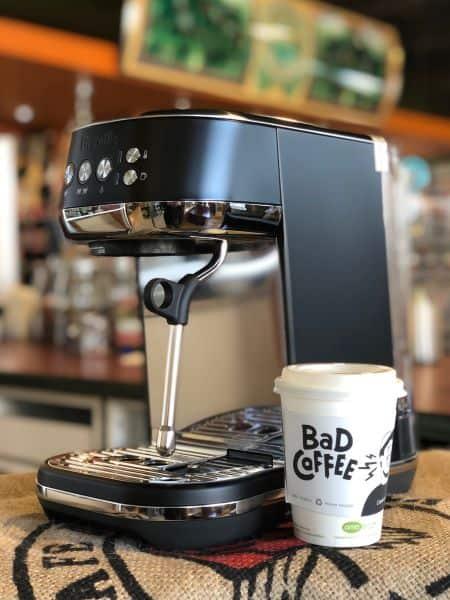 Breville Bambino Plus Espresso Machine Black Truffle