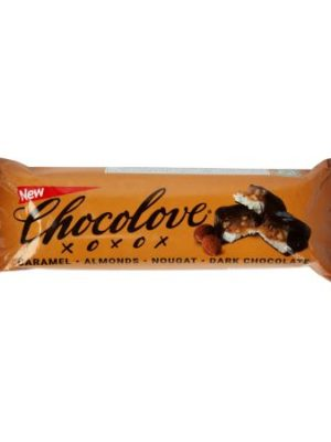 Chocolove Caramel Almonds Nougat Dark Chocolate