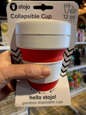 Stojo Collapsible Cup 12oz Red