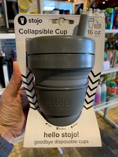 Stojo Collapsible Cup 16oz Carbon