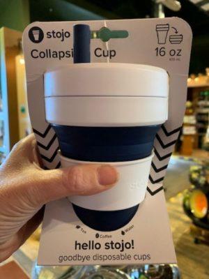Stojo Collapsible Cup 16oz Indigo