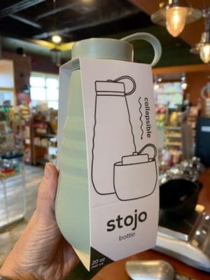 Stojo Collapsible Water Bottle 16oz Sage